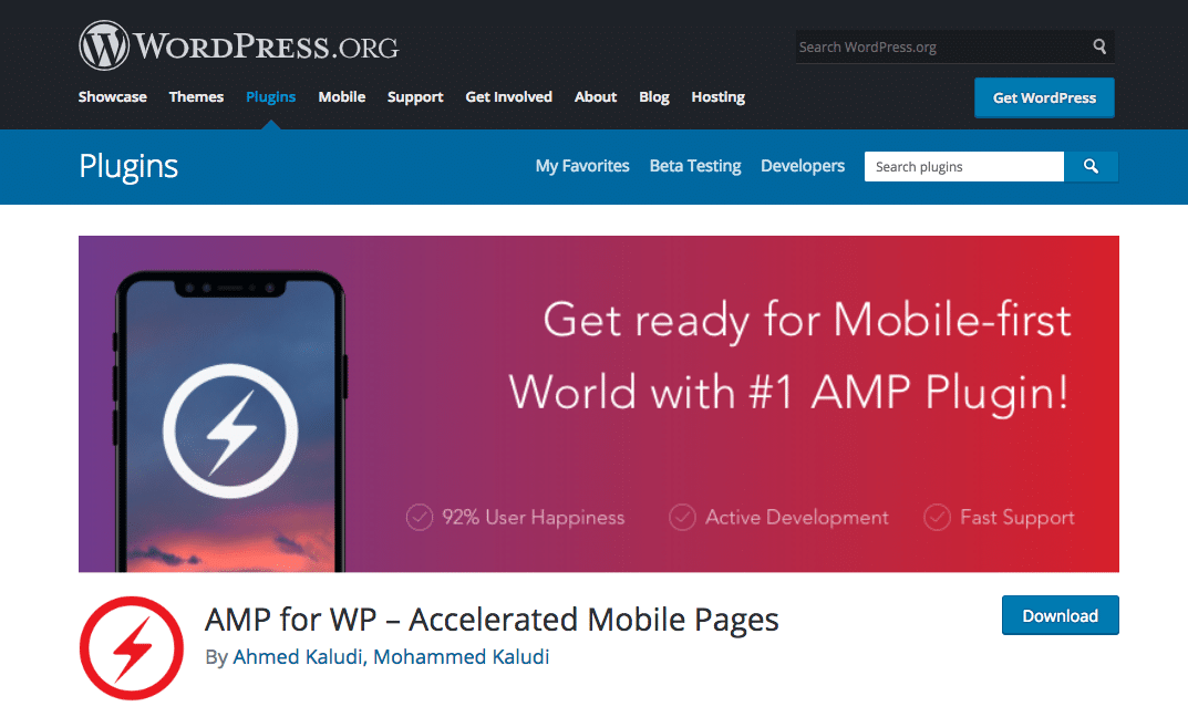 AMP for WP